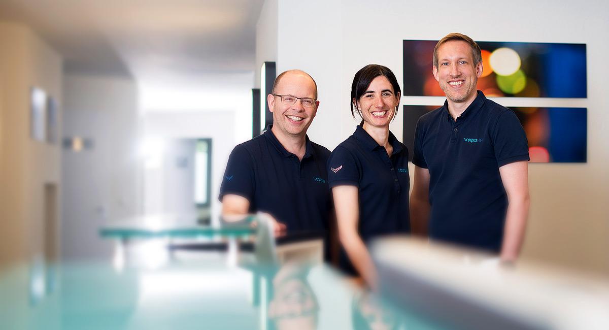 Das Ärzteteam der CorpusVita Orthopädiepraxis in Ulm