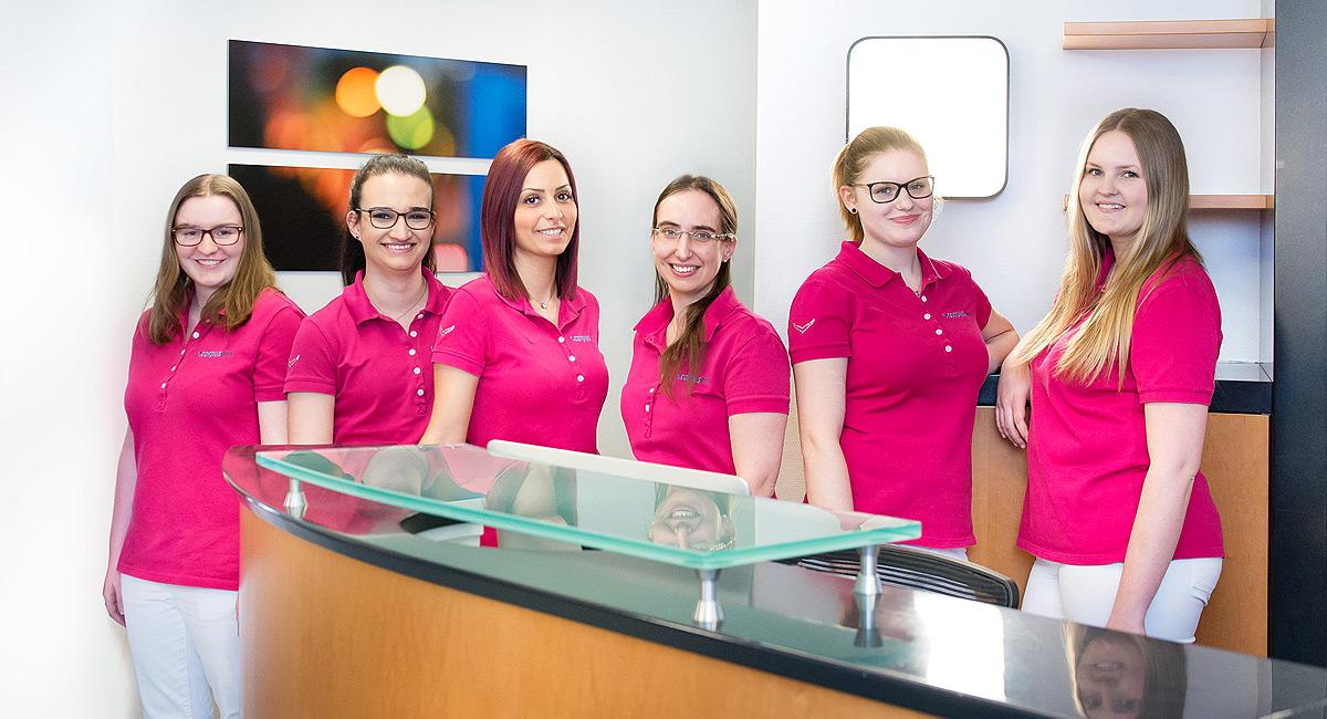 Das Team der Praxis CorpusVita in Ulm