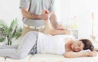 Osteopathische Behandlung Arm
